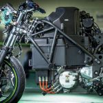 Kawasaki Teases Manual Gearbox for their First Electric Bike 6