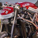 Chromed Custom KTM 1290 Super Duke R. Drag Race Missile 25