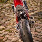 Chromed Custom KTM 1290 Super Duke R. Drag Race Missile 9