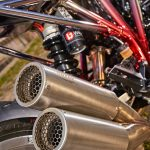 Chromed Custom KTM 1290 Super Duke R. Drag Race Missile 18