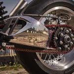 Chromed Custom KTM 1290 Super Duke R. Drag Race Missile 26