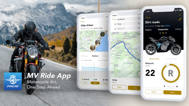 MV Agusta Launches MV Ride App 63