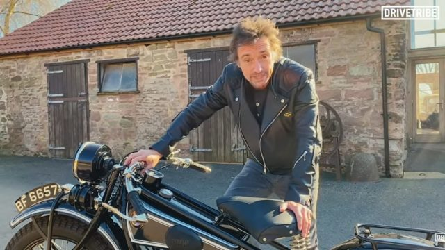 Ex-Top Gear Richard Hammond Pays Tribute to Long Way Round 1