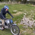 This 86 Year Old Rider Plays with his Trial Motorcycle 10