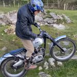This 86 Year Old Rider Plays with his Trial Motorcycle 3