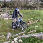 This 86 Year Old Rider Plays with his Trial Motorcycle 11