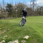 This 86 Year Old Rider Plays with his Trial Motorcycle 9