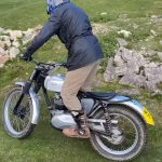 This 86 Year Old Rider Plays with his Trial Motorcycle 6
