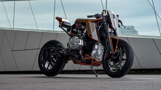 BMW R1250GS Converted into a Cafe Racer 1