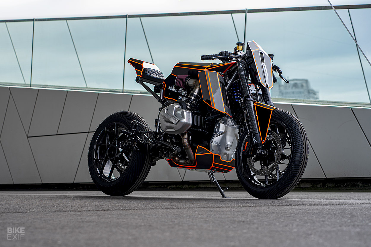 Bmw R1250gs Converted Into A Cafe Racer Drivemag Riders