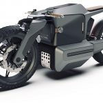 Electric BMW Sidecar Concept. One Design Rendering of a Possible Future 7