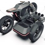 Electric BMW Sidecar Concept. One Design Rendering of a Possible Future 10