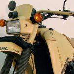 Military Custom Kawasaki KLR650 Converted to Run on Diesel Fuel 6