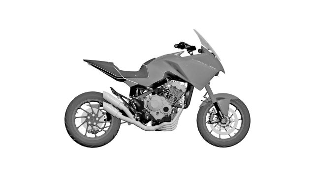 honda 4 cylinder adv patent
