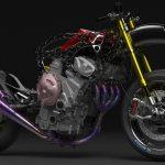 BMW M1000RR. Electric Supercharged Bike Design 6