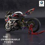 BMW M1000RR. Electric Supercharged Bike Design 2