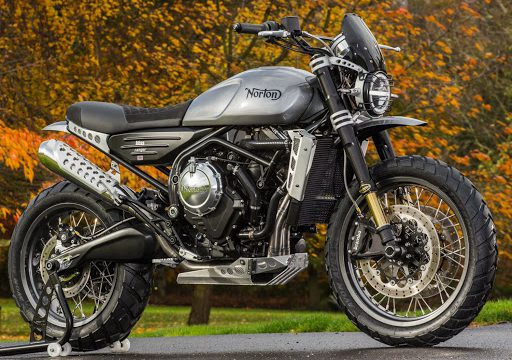 Norton Motorcycles Sold to TVS. Engine Supplier for a New Adventure Bike 1