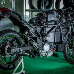 Kawasaki Teases Manual Gearbox for their First Electric Bike 3