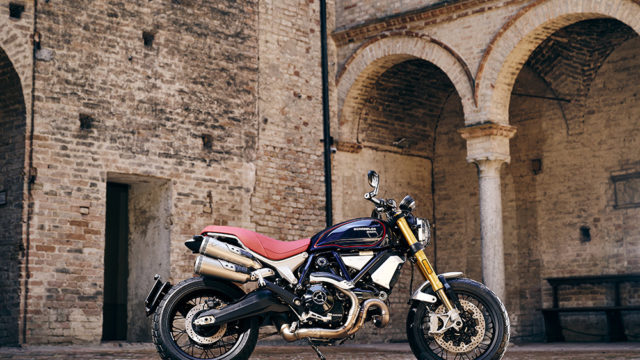 Ducati Unveils a Limited Edition Scrambler 1100 1
