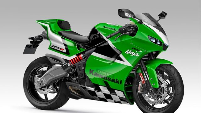 Kawasaki ZX-10R Reimagined by Kardesign 27