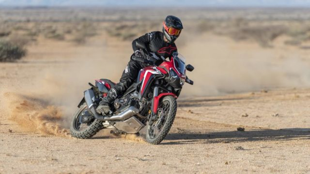 Umbria Kinetics Develops New AirTender Suspension for Honda Africa Twin 1100 1