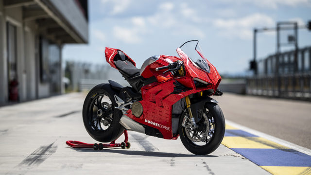 Full-Size Lego Ducati Panigale V4R Unveiled 4