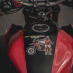 Honda CB650R Rally. Dakar Tribute Adventure Bike 3