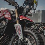 Honda CB650R Rally. Dakar Tribute Adventure Bike 7