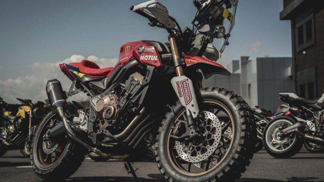 Honda CB650R Honda Wingmotor Portugal Honda Garage Dreams 07