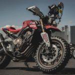 Honda CB650R Rally. Dakar Tribute Adventure Bike 8