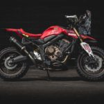 Honda CB650R Rally. Dakar Tribute Adventure Bike 9