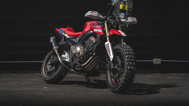 Honda CB650R Honda Wingmotor Portugal Honda Garage Dreams 09