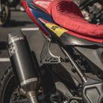 Honda CB650R Rally. Dakar Tribute Adventure Bike 11