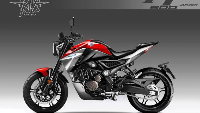 MV Agusta F1 300 Junior. Small Brutale Bike Design by Oberdan Bezzi 62
