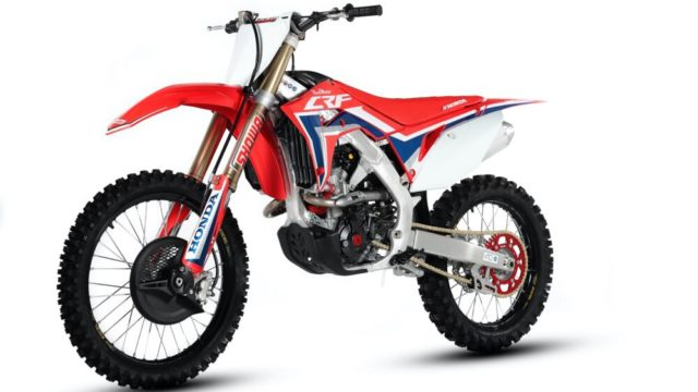 Honda RedMoto CRF 250R Carbon Edition. Carbon Fiber Comes to Motocross Bikes 3